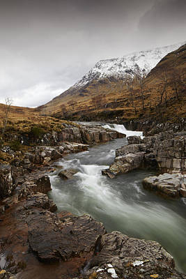 Photograph - River Etive by Alexey Druzhinin