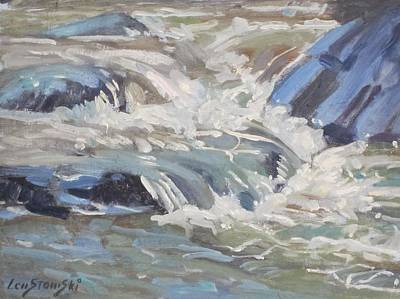Painting - River Flow by Len Stomski