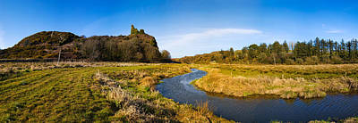 Social History Photograph - River Flowing Through Landscape by Panoramic Images