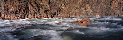 Grand Canyon Photograph - River Flowing Through Rocks, Grand by Panoramic Images