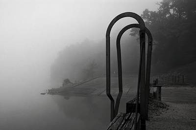 Phoneography Photograph - River Fog by Tommy Wallace