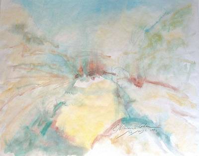 Painting - River Gorge Miasma by Esther Newman-Cohen