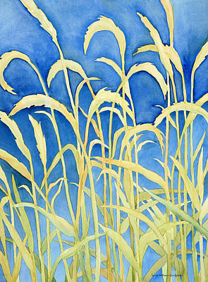 Painting - River Grass by Lynda Hoffman-Snodgrass