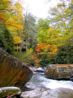 Photograph - River House In The Fall by Duane McCullough