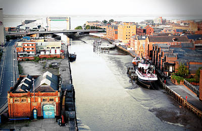 Photograph - River Hull by Anthony Bean