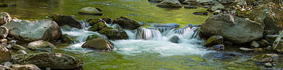 River In Great Smoky Mountains National Art Print