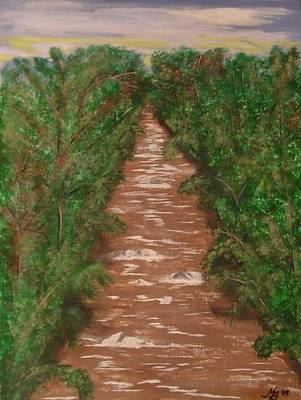Painting - River In Tennessee by Melanie Blankenship