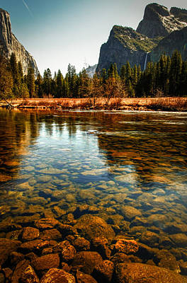 Photograph - River In Yosemite Valley by Celso Diniz