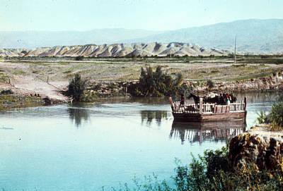 River Jordan Photograph - River Jordan, C1960 by Granger