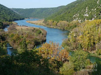 Photograph - River Krka - Krka National Park - Croatia by Phil Banks