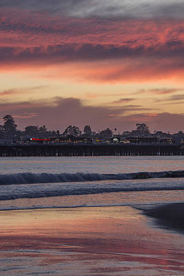River Mouth Sunset Art Print by Bruce Frye