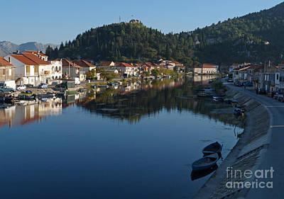 Photograph - River Neretva - Opuzen - Croatia by Phil Banks