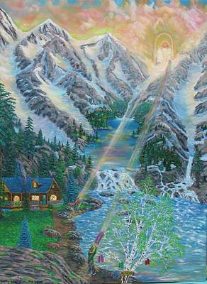 Painting - River Of Delight by Mike De Lorenzo