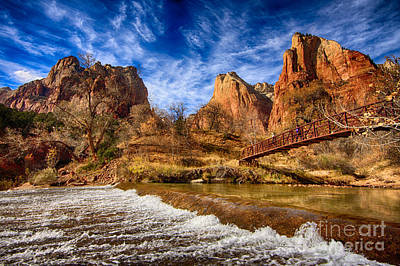 Photograph - River Of Gold by Beth Sargent