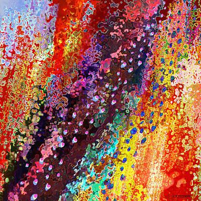 River Of Joy Art Print by Jann Paxton