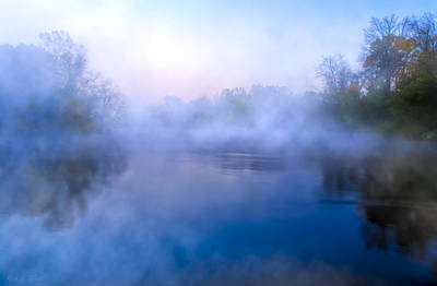 Photograph - River Of Mists - Georgia Landscapes by Mark E Tisdale