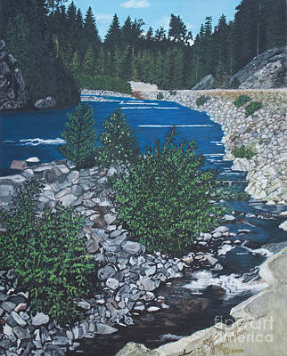 Painting - River Of Peace by Joy Ballack