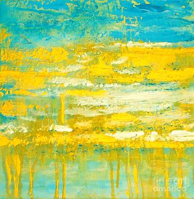 Painting - River Of Praise by Donna Dixon