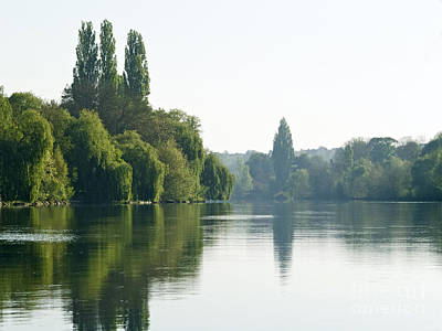 River Oise At Auvers Art Print by Alex Cassels