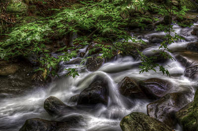 River On The Rocks II Art Print