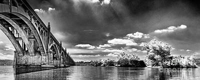Photograph - River Panoramic  by Paul W Faust -  Impressions of Light