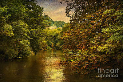 River Path Art Print by Svetlana Sewell