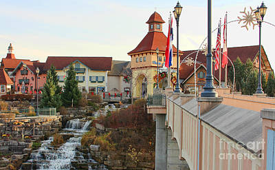 Michigan Frankenmuth Photograph - River Place Shops In Frankenmuth Mi by Jack Schultz
