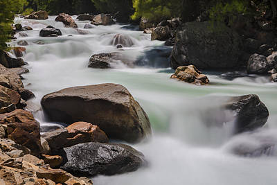 Photograph - River Rapids  73a6817 by David Orias