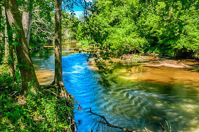 Photograph - River Reflections by Gene Sherrill