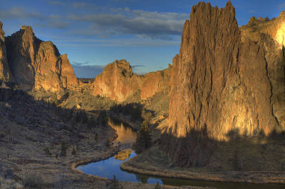 Photograph - River Reflections Of Smith Rock by Coby Cooper