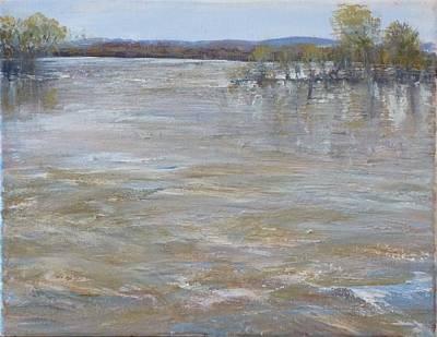 River Rising Art Print
