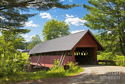 Photograph - River Road Covered Bridge by Alan L Graham