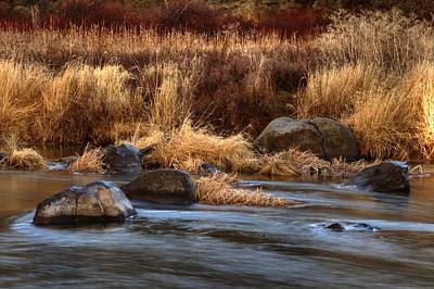 Photograph - River Rock by Coby Cooper