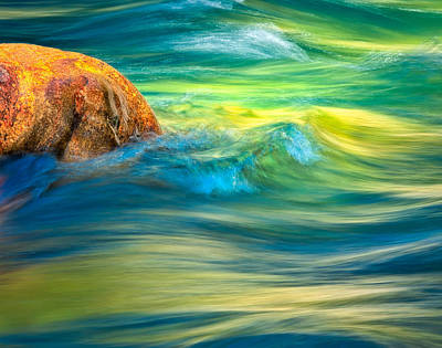 Photograph - River Rock by Joan Herwig