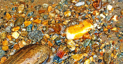 Photograph - River Rocks 10 by Duane McCullough