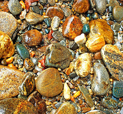 Photograph - River Rocks 13 by Duane McCullough