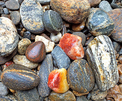 Photograph - River Rocks 18 by Duane McCullough