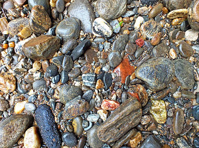 Photograph - River Rocks 19 by Duane McCullough