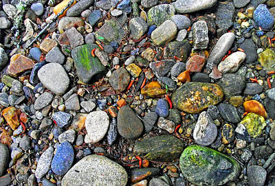 Photograph - River Rocks 22 by Duane McCullough