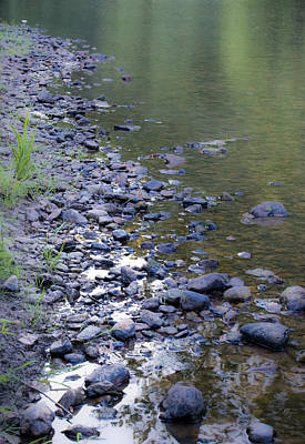 Photograph - River Rocks by Cara Moulds