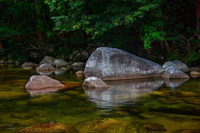 Photograph - River Rocks by Harry Spitz