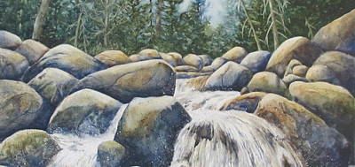 Painting - River Rocks II by Daydre Hamilton