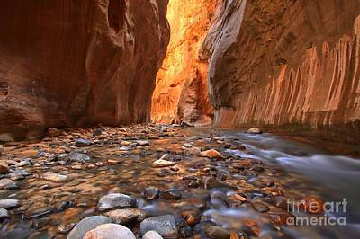 Photograph - River Rocks In The Narrows by Adam Jewell