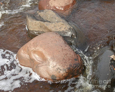 Photograph - River Rocks by Nan Wright