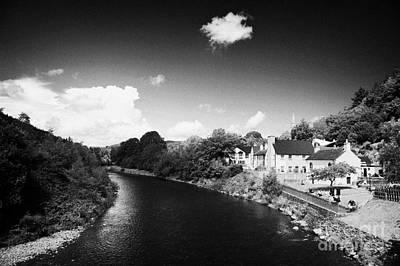 Avoca Photograph - River Running Through Avoca Village by Joe Fox