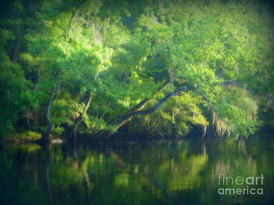 Photograph - River Serenity by Lew Davis