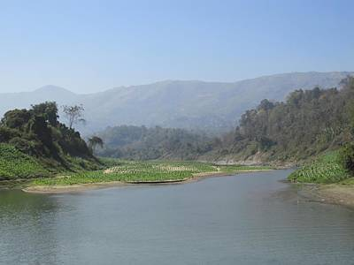 Photograph - River Shangu by Daniel Chowdhury