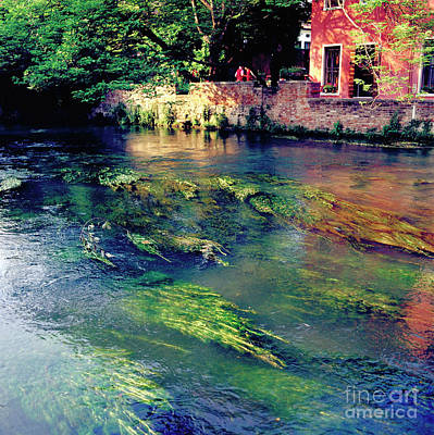 River Sile In Treviso Italy Art Print by Heiko Koehrer-Wagner