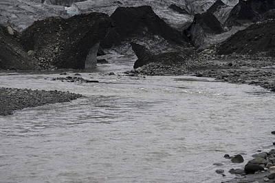 Sk Stones Photograph - River Skogafoss Waterfall Iceland by Ronald Jansen