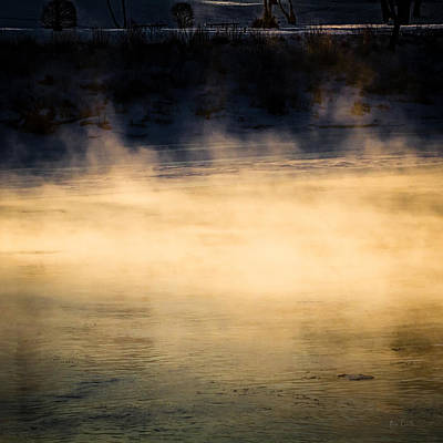 Sunrise Photograph - River Smoke by Bob Orsillo